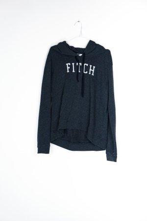 Abercrombie & Fitch Jersey con capucha gris pizarra Algodón