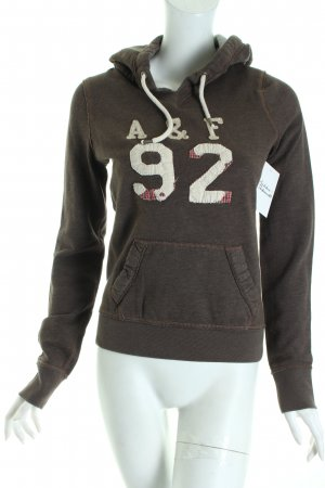 Abercrombie & Fitch Kapuzenpullover mehrfarbig Casual-Look