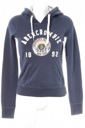 Abercrombie & Fitch Kapuzenpullover mehrfarbig Street-Fashion-Look