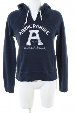 Abercrombie & Fitch Hooded Sweatshirt blue casual look