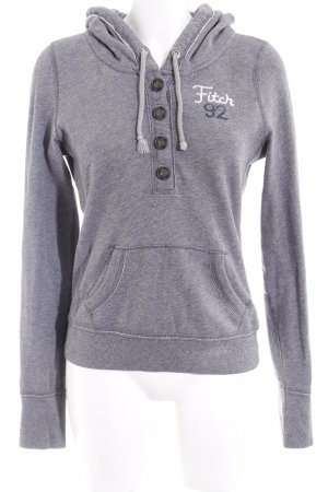 Abercrombie & Fitch Sudadera con capucha gris look casual