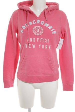 Abercrombie & Fitch Sweat à capuche multicolore style décontracté