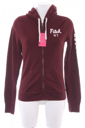 Abercrombie & Fitch Hooded Vest bordeaux casual look