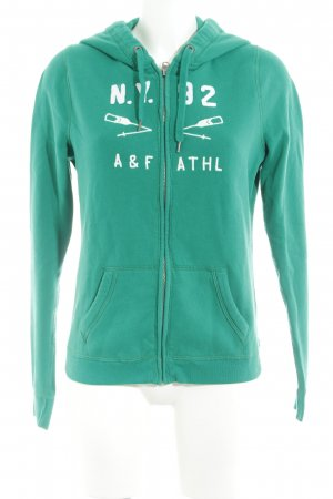 Abercrombie & Fitch Hooded Vest green casual look