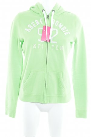 Abercrombie & Fitch Hooded Vest neon green casual look