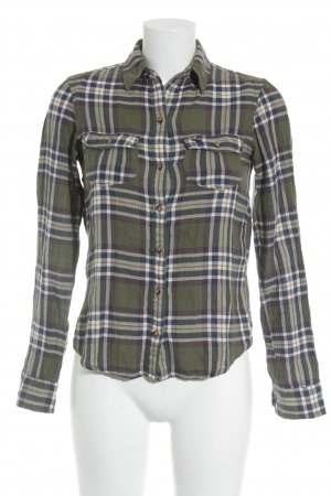 Abercrombie & Fitch Karobluse Karomuster Casual-Look