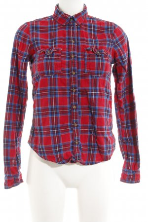 Abercrombie & Fitch Geruite blouse geruite print klassieke stijl