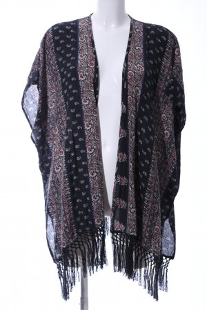 Abercrombie & Fitch Kimono Blouse abstract pattern casual look