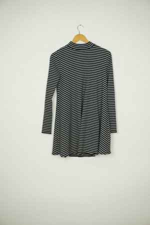 Abercrombie & Fitch Longsleeve Dress black-white