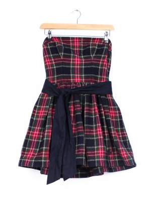 Abercrombie & Fitch Vestido strapless multicolor