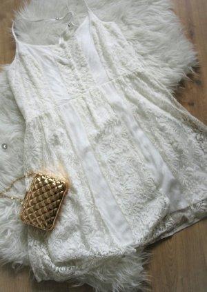 Abercrombie & Fitch Kleid Spitzenkleid Sommerkleid