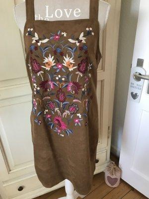 Abercrombie&Fitch Kleid Wildleder Optik mit Stickereien 119€