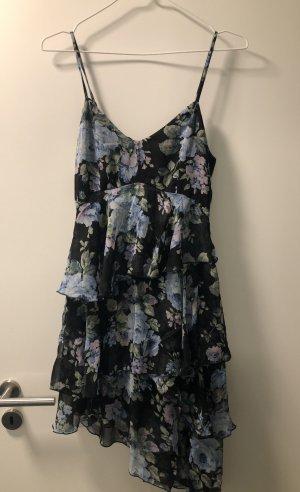 Abercrombie & Fitch Chiffon jurk veelkleurig