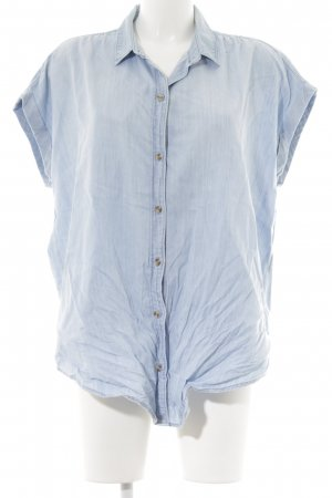 Abercrombie & Fitch Short Sleeve Shirt azure casual look