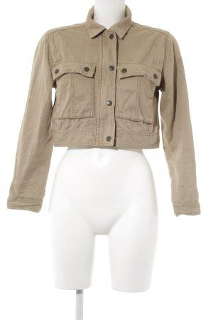Abercrombie & Fitch Kurzjacke beige Casual-Look