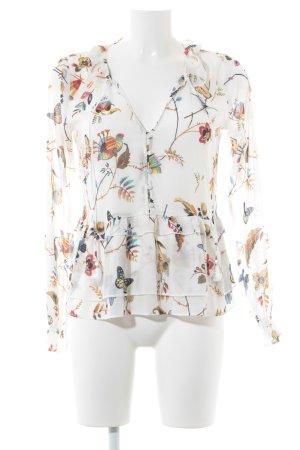 Abercrombie & Fitch Blouse met lange mouwen bloemenprint