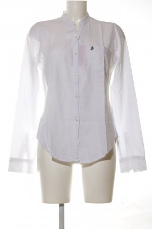 Abercrombie & Fitch Langarm-Bluse weiß Casual-Look