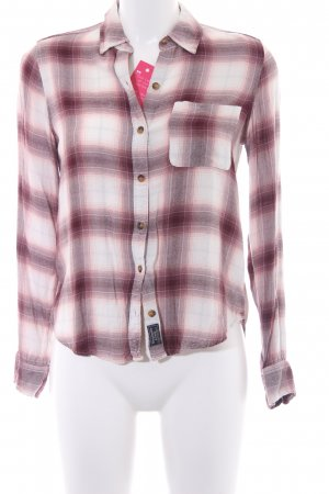Abercrombie & Fitch Langarm-Bluse Karomuster Casual-Look