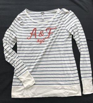 Abercrombie & Fitch Langarm-Shirt gestreift Gr. S