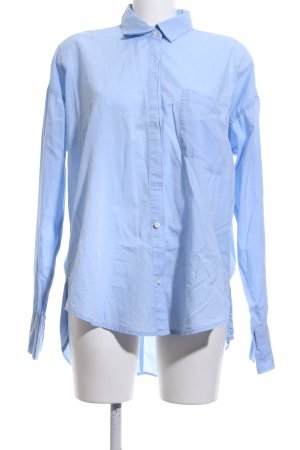 Abercrombie & Fitch Long Sleeve Shirt blue business style