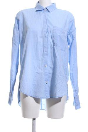 Abercrombie & Fitch Camicia a maniche lunghe blu stile professionale