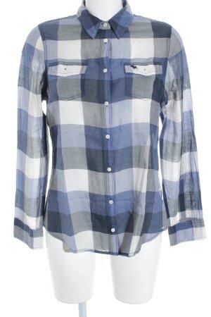 Abercrombie & Fitch Shirt met lange mouwen geruite print casual uitstraling