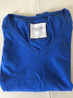 Abercrombie & Fitch Long Shirt blue