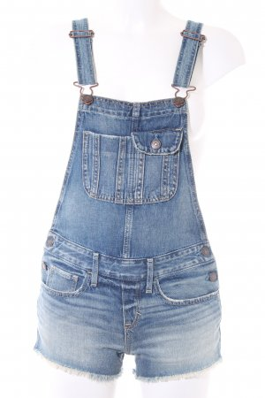 Abercrombie & Fitch Overall staalblauw casual uitstraling
