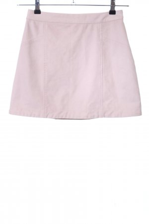 Abercrombie & Fitch Gonna in pelle rosa stile casual