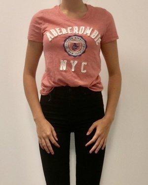 Abercrombie & Fitch Logo T-shirt Basic