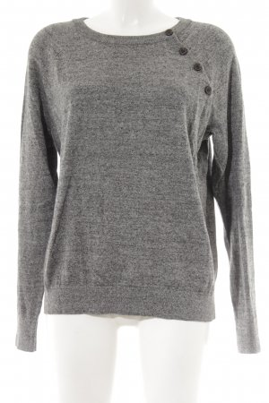 Abercrombie & Fitch Longpullover grau Casual-Look