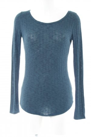Abercrombie & Fitch Longesleeve blauw casual uitstraling