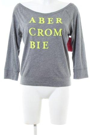 Abercrombie & Fitch Longsleeve light grey casual look