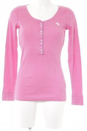 Abercrombie & Fitch Longsleeve pink Casual-Look