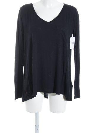 Abercrombie & Fitch Longesleeve zwart casual uitstraling