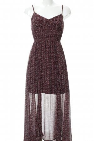 Abercrombie & Fitch Maxikleid abstraktes Muster Boho-Look