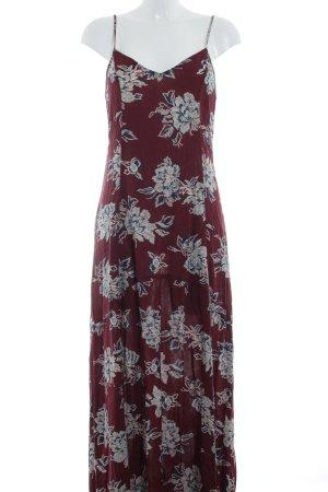 Abercrombie & Fitch Maxi-jurk bloemen patroon Beach-look