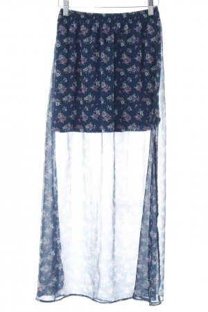 Abercrombie & Fitch Maxi rok bloemenprint casual uitstraling