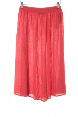 Abercrombie & Fitch Midi Skirt red casual look
