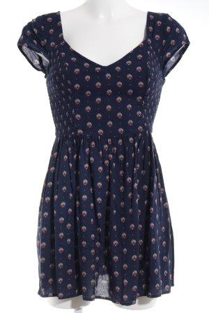 Abercrombie & Fitch Mini vestido estampado con diseño abstracto Estilo playero