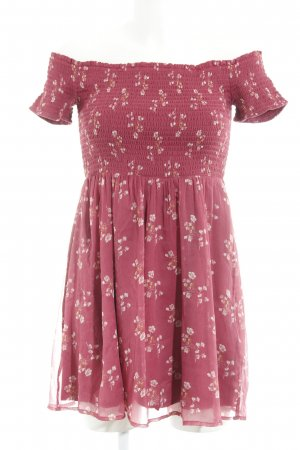 Abercrombie & Fitch Minikleid Blumenmuster Casual-Look