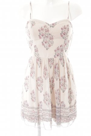 Abercrombie & Fitch Minikleid Blumenmuster Romantik-Look