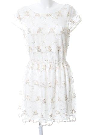 Abercrombie & Fitch Mini Dress white-natural white elegant