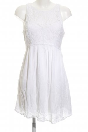Abercrombie & Fitch Mini Dress natural white Boho look