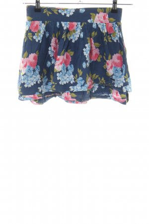 Abercrombie & Fitch Miniskirt flower pattern casual look