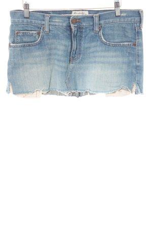 Abercrombie & Fitch Minifalda azul estilo relajado