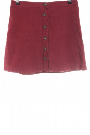 Abercrombie & Fitch Minirock rot Casual-Look