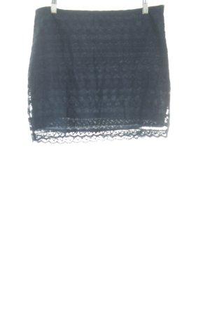 Abercrombie & Fitch Minirock dunkelblau schlichter Stil