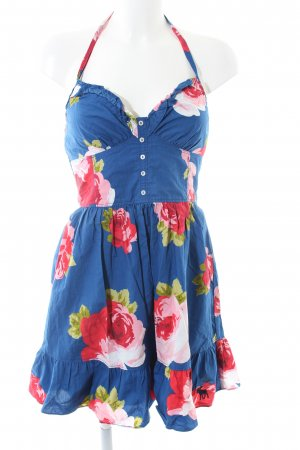 Abercrombie & Fitch Halter Dress flower pattern casual look