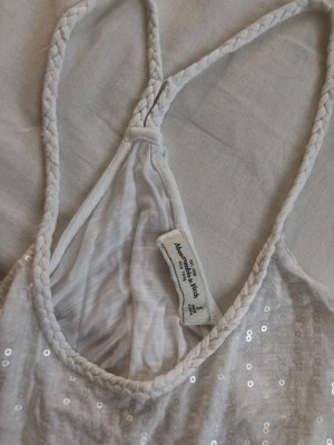 Abercrombie & Fitch Top wit-wolwit